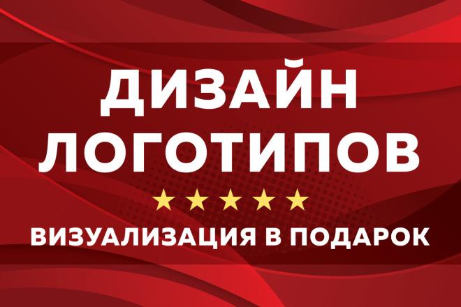 Профессиональная разработка логотипов и визуализация логотипов 106 - kwork.ru
