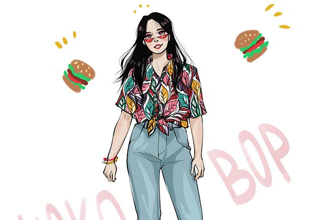 Fashion иллюстрация 7 - kwork.ru