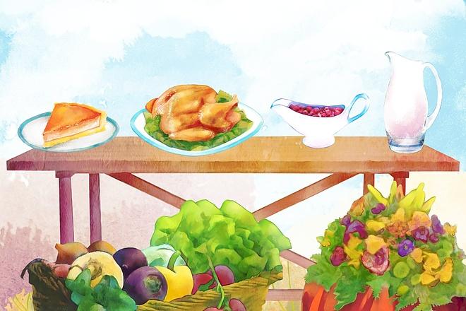 Рисунки и иллюстрации 48 - kwork.ru