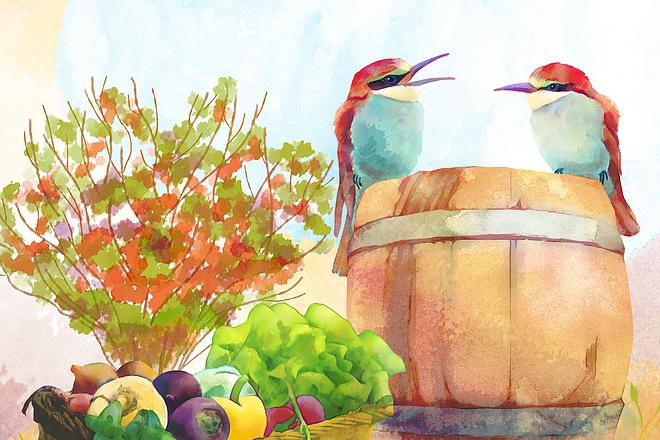 Рисунки и иллюстрации 49 - kwork.ru