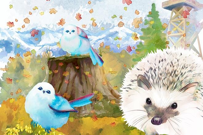 Рисунки и иллюстрации 52 - kwork.ru