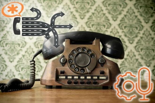 Озвучу авто информатор, телефонное приветствие, голосовое меню, IVR 1 - kwork.ru