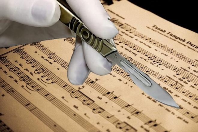 Напишу нотную партитуру 1 - kwork.ru