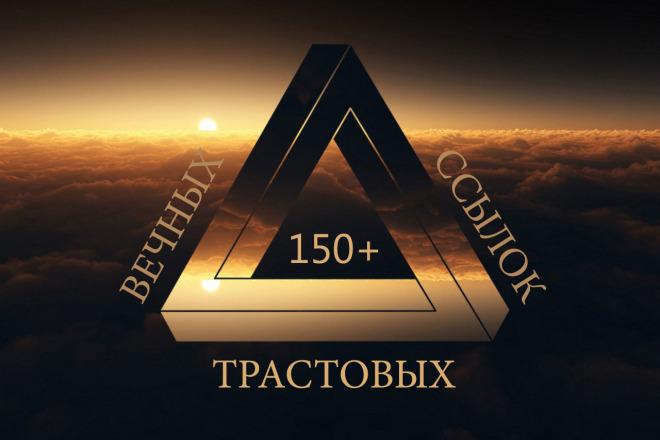 Качественное ручное размещение 150 анкорных трастовых вечных ссылок 1 - kwork.ru