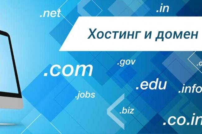 Зарегистрирую вам домен и хостинг 1 - kwork.ru