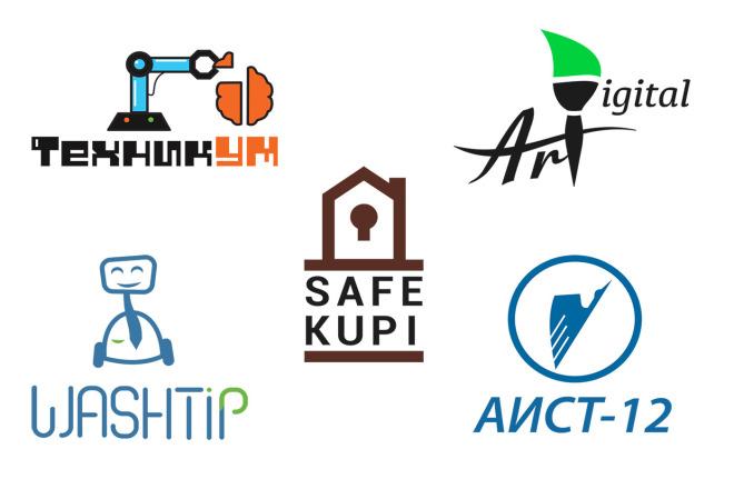 Создам логотип с нуля по низкой цене 6 - kwork.ru