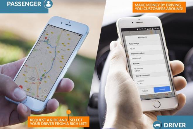 Мобильное приложение для такси 1 - kwork.ru