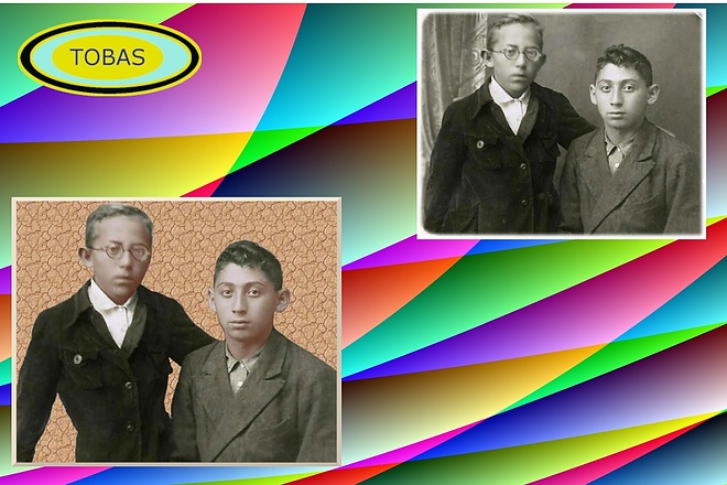 Восстановление старых фото, цветокоррекция, яркость, контрастность 6 - kwork.ru