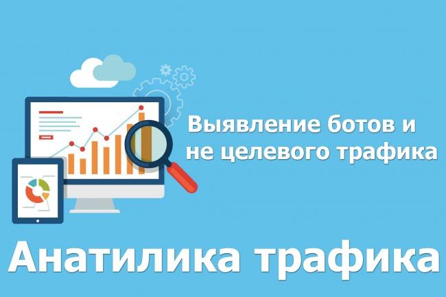 Скрипт для аналитики трафика, выявления ботов 1 - kwork.ru