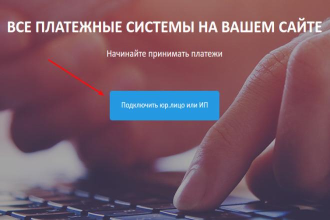 Подключу платежную систему на Ваш сайт, интернет-магазин, физ и юр лиц 1 - kwork.ru