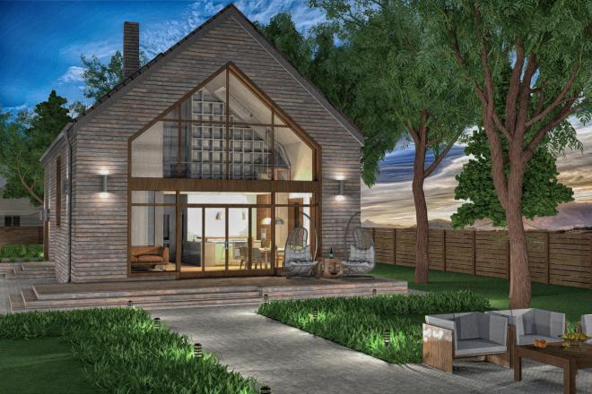 Разработка проекта индивидуального жилого дома 9 - kwork.ru