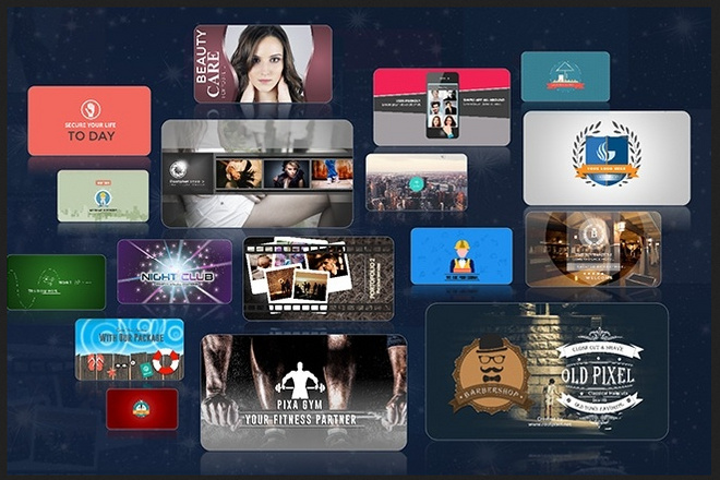 850 анимированных шаблонов от Levideo для PowerPoint 22 - kwork.ru