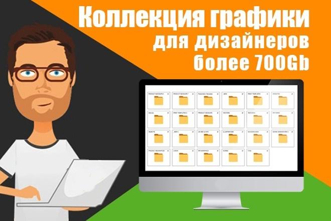 Коллекция графики для дизайнеров более 700Gb 1 - kwork.ru