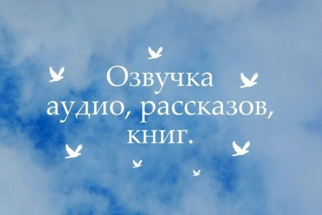 Озвучу видео, рассказы, сказки, стихотворения и подобное 1 - kwork.ru