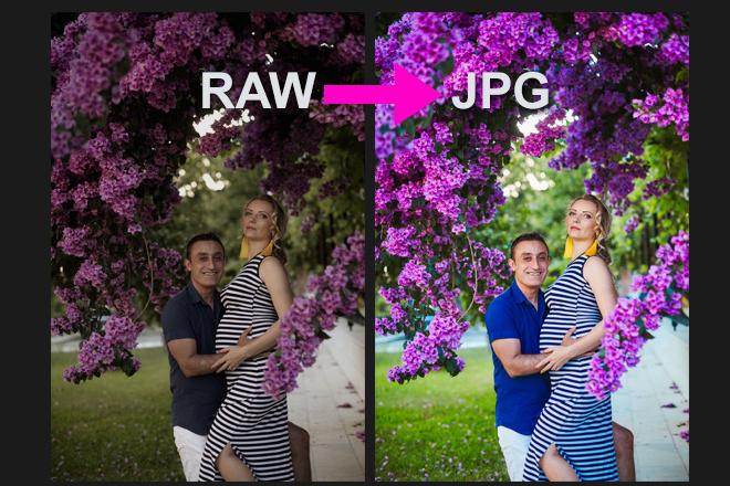 Для проф. фотографов - конвертация фото из RAW в JPG, 100 штук 18 - kwork.ru