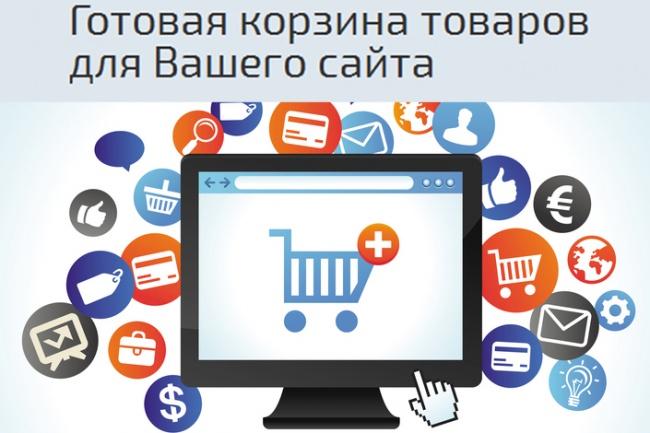 Готовая корзина товаров для Вашего сайта 1 - kwork.ru