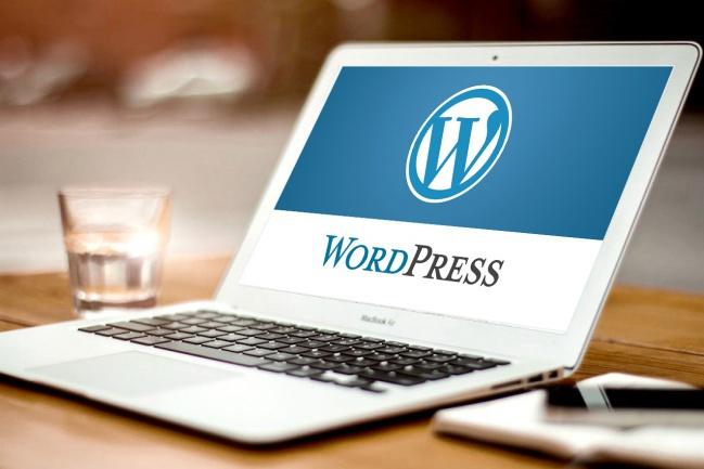 Сайт  на WordPress с установкой и настройкой 4 - kwork.ru