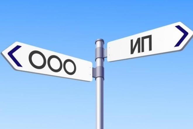 Документы для регистрации ООО и ИП 1 - kwork.ru