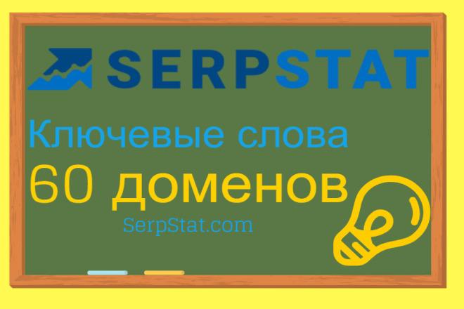 Выгружу запросы 60 сайтов из SerpStat 1 - kwork.ru