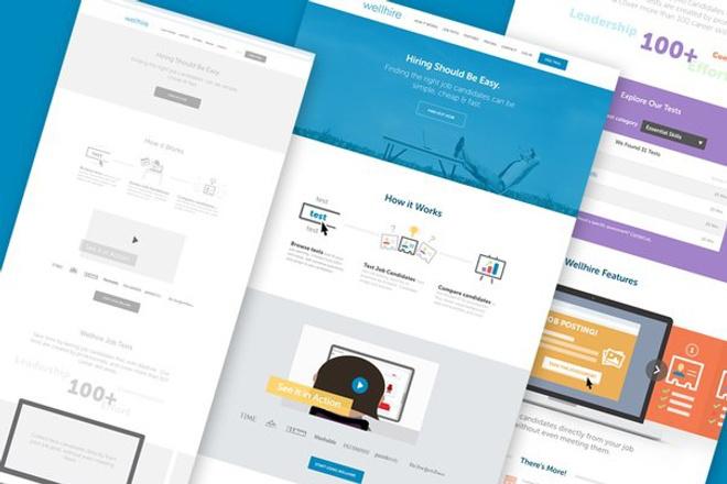Создам дизайн сайта 1 - kwork.ru