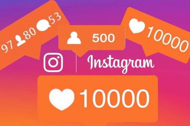 2500 лайков на любые фотографии в инстаграм, 2,5k лайки реальные 1 - kwork.ru