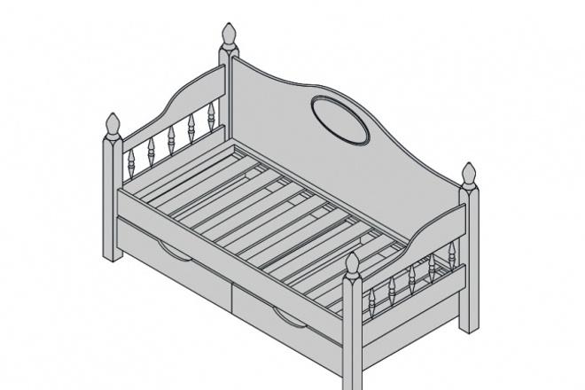 Схема, инструкция сборки мебели 40 - kwork.ru