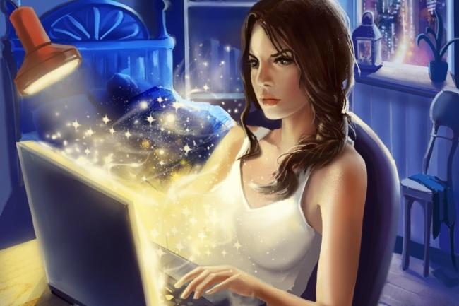 Иллюстрация в стиле фэнтези 5 - kwork.ru