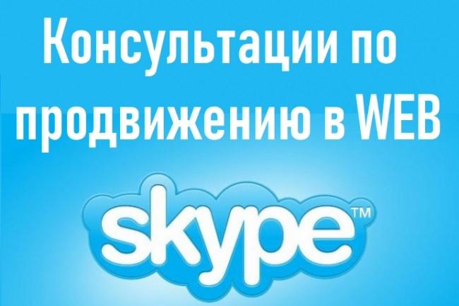 SEO консультации по сайту в Skype 1 - kwork.ru