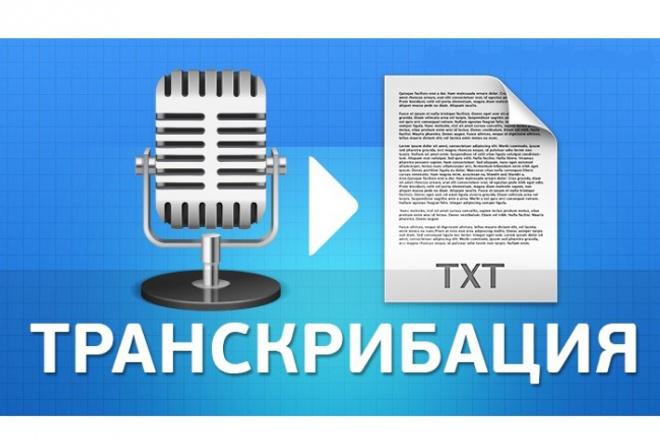 Переведу 2 часа видео,аудио файл в текст. Транскрибация 1 - kwork.ru