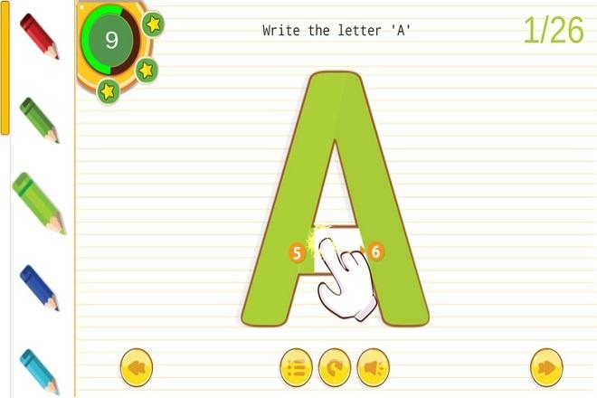 Исходник игры English Alphabet Tracing A-Z. Unity 1 - kwork.ru