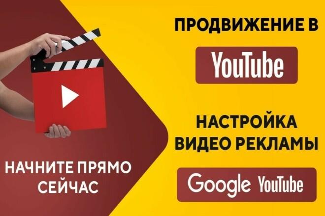 Реклама на Youtube Google Ads - Видеореклама - Discovery 1 - kwork.ru