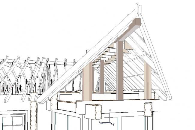 Проектирование деревянных конструкций 5 - kwork.ru