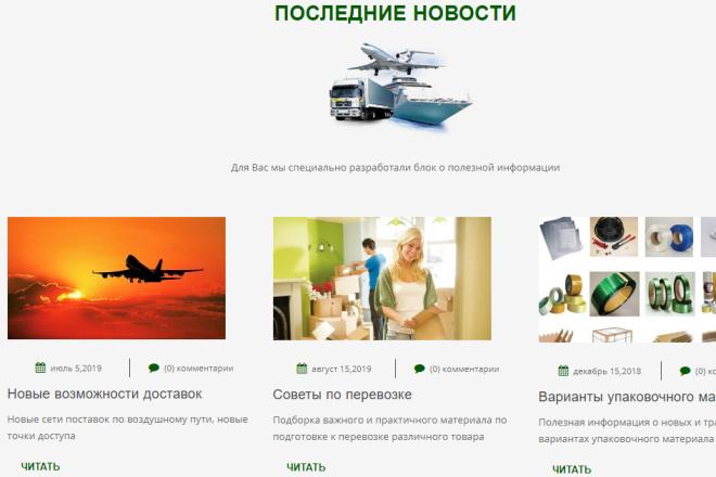 Верстка сайта любой сложности 4 - kwork.ru