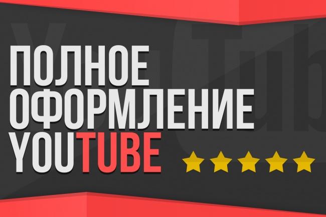 Полностью оформлю Ваш YouTube канал 10 - kwork.ru