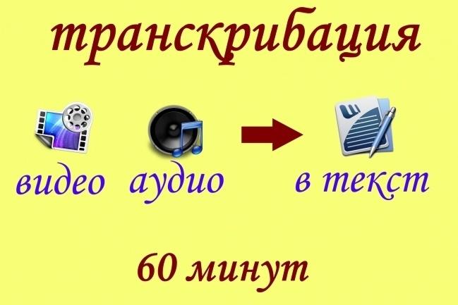 Транскрибация текста, Расшифровка аудио, видео в текст 1 - kwork.ru