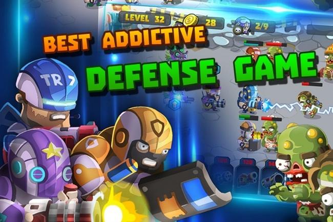 Исходник мобильной игры Special Squad vs Zombies. Игра на Unity 3 - kwork.ru