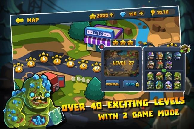 Исходник мобильной игры Special Squad vs Zombies. Игра на Unity 1 - kwork.ru