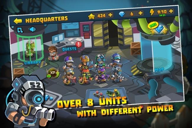 Исходник мобильной игры Special Squad vs Zombies. Игра на Unity 2 - kwork.ru