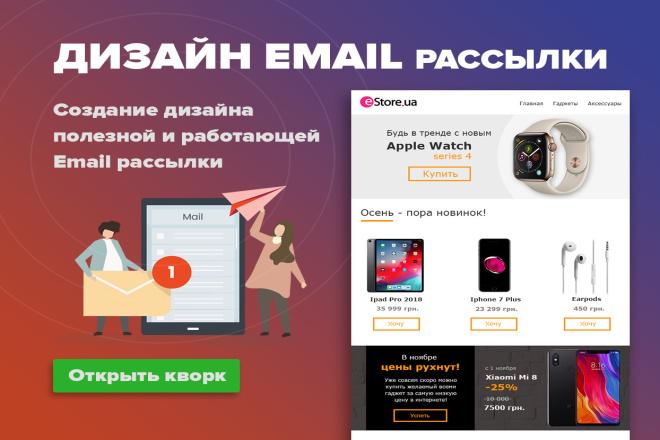 Дизайн Email письма, рассылки. Веб-дизайн 19 - kwork.ru