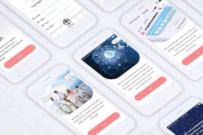 Дизайн 1 экрана мобильного приложения 4 - kwork.ru