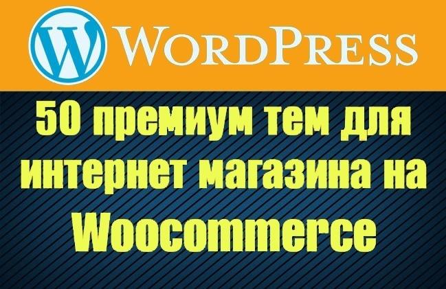 50 премиум тем WP для интернет-магазина на WooCommerce 46 - kwork.ru
