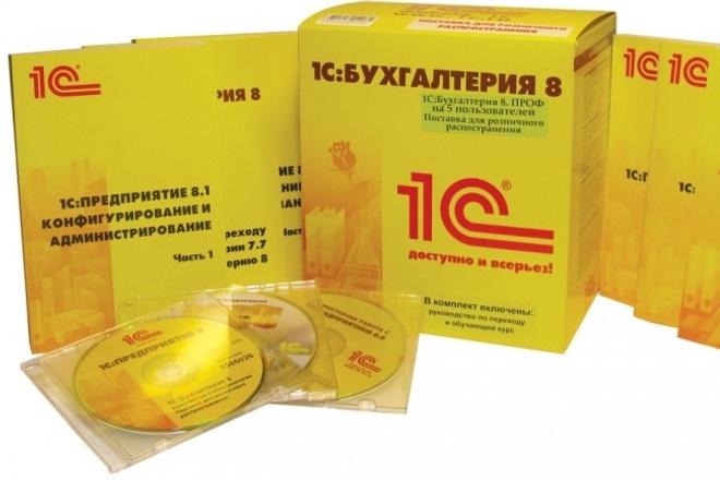 Помощь по 1С 1 - kwork.ru