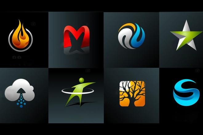 Создам 3D логотип 12 - kwork.ru
