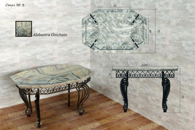 Моделирование мебели 85 - kwork.ru