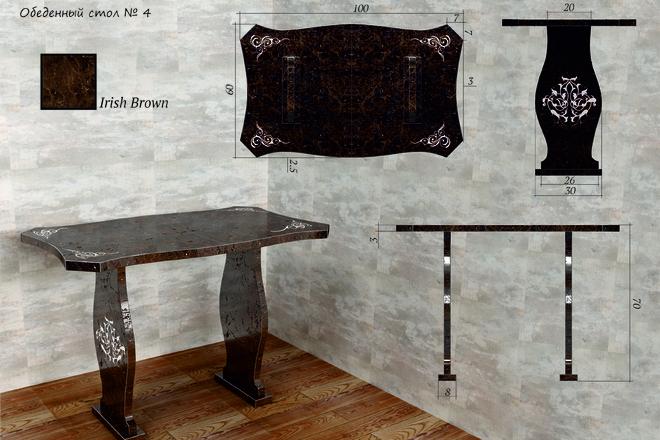 Моделирование мебели 79 - kwork.ru
