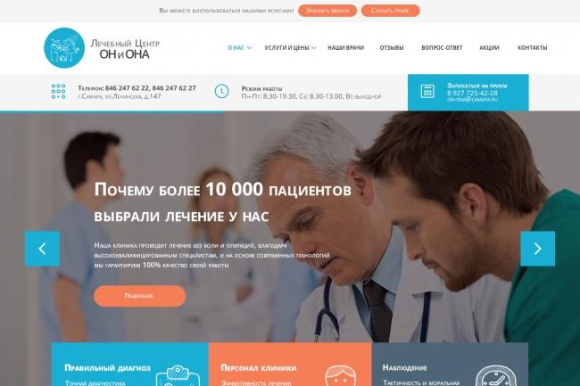 Сделаю дизайн лендинга 20 - kwork.ru