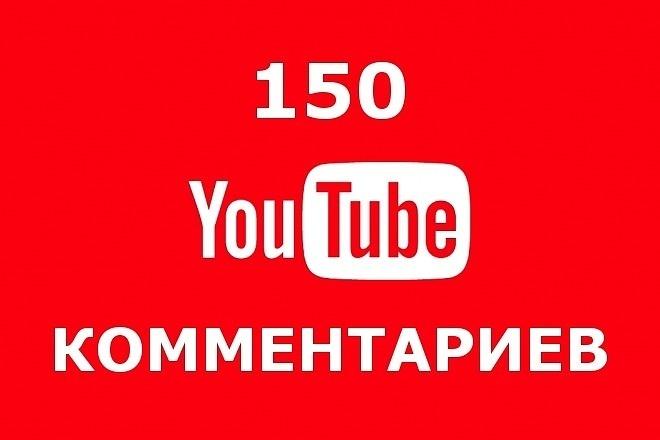 150 осмысленных комментариев под любыми вашими видео на Youtube 1 - kwork.ru