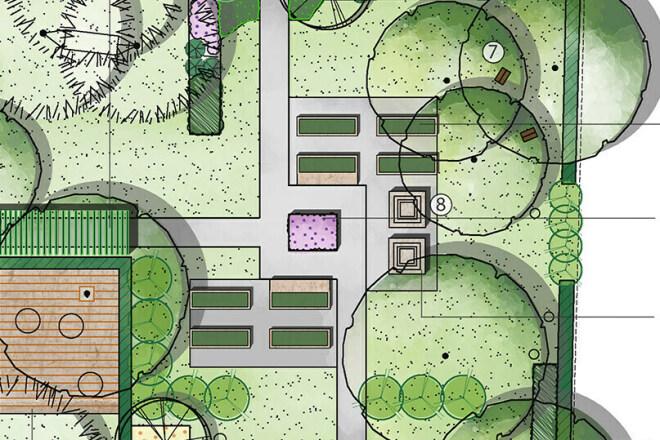 Сделаю ландшафтный дизайн участка 5 - kwork.ru