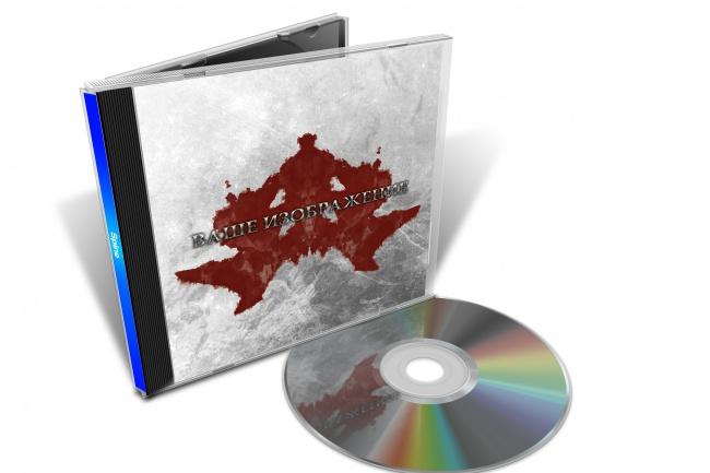 3D макеты футляра Jewel Box CD дисков для вашего творчества 1 - kwork.ru