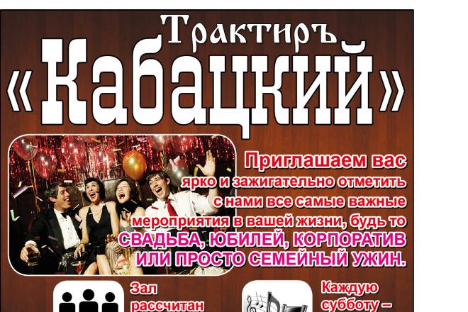 Афишу на мероприятие 7 - kwork.ru